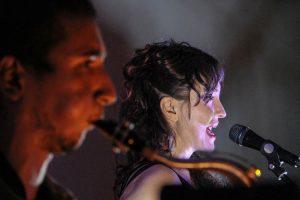 Lizfera (Imma Lucas) Junto a Roberto Tercero